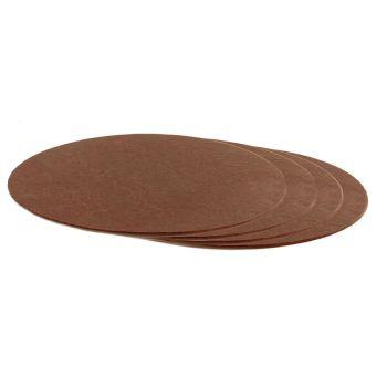 Decora THIN CAKE BOARD BROWN ø 22 CM H 3 MM 9', 30 units @ £0.73 per unit.