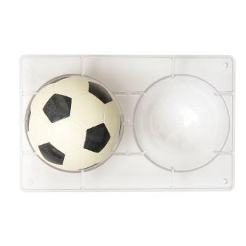SOCCER BALL CHOCOLATE MOLD Ø 120 MM 275 X 175 X 22 MM, , 6 units @ £6.38 per unit.