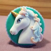 Magical Unicorn Head by Alphabet Moulds