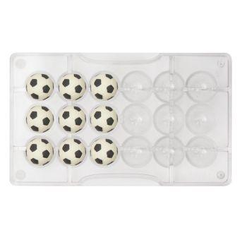 SOCCER BALL CHOCOLATE MOLD Ø 25 MM 200 X 120 X 22 MM, , 6 units @ £6.38 per unit.
