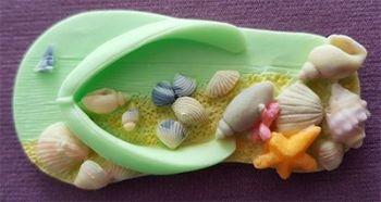 Beach Sandal By Alphabet Moulds