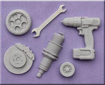 Mechanic by Alphabet Moulds