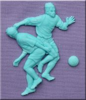 Footballers by Alphabet Moulds