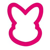 Decora BUNNY PLASTIC COOKIE CUTTER 8,5 X 6 X H 2 CM, 10 units @ £0.96 per unit.