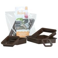 Decora 5 MOSTACCIOLO PLASTIC COOKIE CUTTERS, 6 units @ £3.51 per unit.
