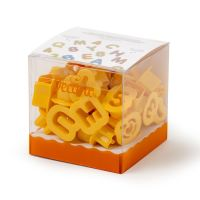 Decora 36 COOKIE CUTTERS ALPHABET&NUMBERS DIM. 2 X H 1,6 CM, 6 units @ £6.06 per unit.