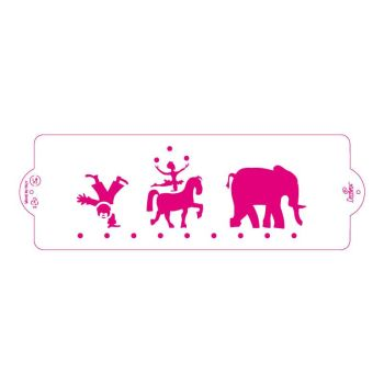 Decora STENCIL CIRCUS 10X30CM, 3 units @ £3.00 per unit.
