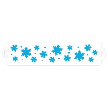 Decora STENCIL FROZEN STAR 7 X 30 CM, 3 units @ £2.23 per unit.
