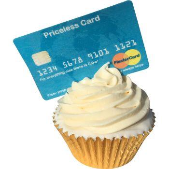 Priceless Edible Credit Card
