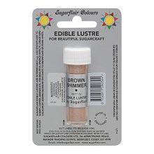 Edible Lustre - Brown Shimmer, 10 x 2g vials  per colour at £2.47 each.