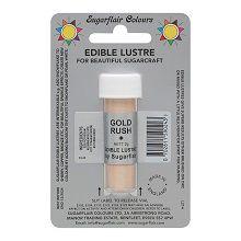 Edible Lustre - Gold Rush, 10 x 2g vials  per colour at £2.47 each.