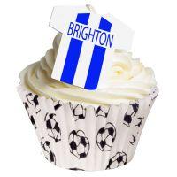 Edible T Shirts - Brighton. Pack of 12