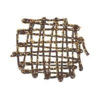 Grille 8cm dark  gold,  £24.95 per carton of 69 Pieces