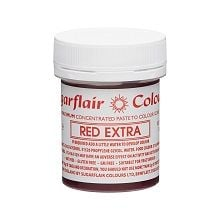 Maximum Concentrated Paste Colours - Red Extra, 10 x 42g pots  per colour at £4.16 each.
