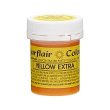 Maximum Concentrated Paste Colours - Yellow Extra, 10 x 42g pots  per colour at £4.16 each.