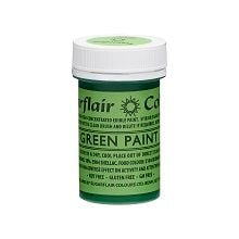 Edible Matt Paints - Green, 10 x 20g pots  per colour at £2.66 each.