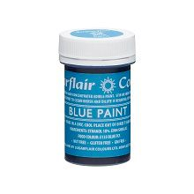 Edible Matt Paints - Blue, 10 x 20g pots  per colour at £2.66 each.