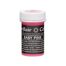 Pastel Paste - Baby Pink, 10 x 25g pots  per colour at £ 2.60 each.