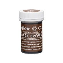 Spectral Concentrated Paste - Dark Brown, 10 x 25g pots  per colour at £2.66 each.