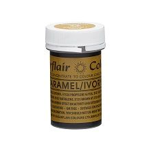 Spectral Concentrated Paste - Caramel/Ivory, 10 x 25g pots  per colour at £2.66 each.