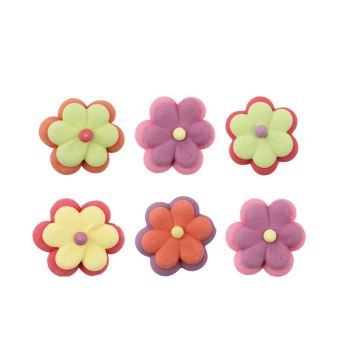 Double flower set 3cm, 150 Pieces Per Box