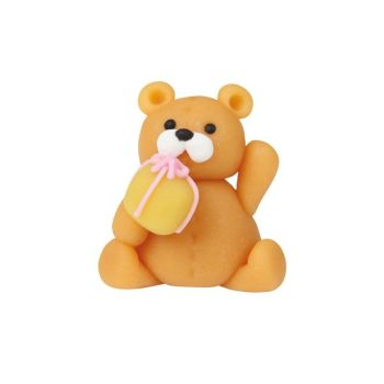 Bear With Gift 4cm, 42 Pieces Per Box