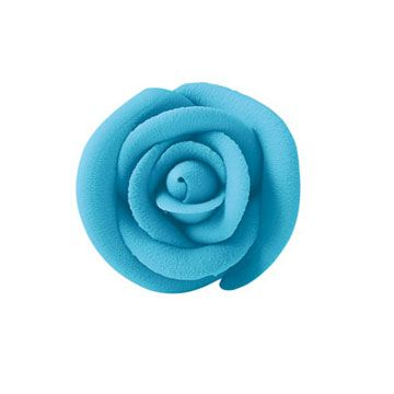 Lucks Large Party Blue Rose: Pack/Size: 72 per box 1 3/4""