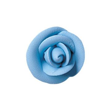 Lucks Medium Party Blue Rose: Pack/Size: 90 per box 1 1/2""
