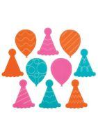 "Lucks Celebration Variety Sweet Shapes Fondant: Pack/Size: 252 pack 1 1/4"" High Moisture"
