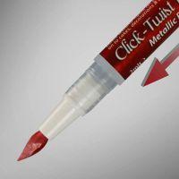 Rainbow Dust The Click-Twist Brush® - Metallic Red: 2ml, 10 Units Per Box. £2.41 Per Unit.