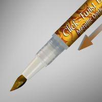 Rainbow Dust The Click-Twist Brush® - Metallic Dark Gold: 2ml, 10 Units Per Box. £2.41 Per Unit.