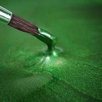 Rainbow Dust Paint Metallic Holly Green Retail: 25ml, 10 Units Per Box. £3.25 Per Unit.