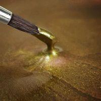 Rainbow Dust Paint Metallic Light Gold: 25ml, 10 Units Per Box. £3.17 Per Unit.