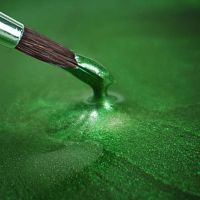 Rainbow Dust Paint Metallic Holly Green: 25ml, 10 Units Per Box. £3.17 Per Unit.