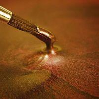 Rainbow Dust Paint Metallic Dark Gold: 25ml, 10 Units Per Box. £3.17 Per Unit.