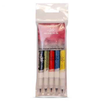 Rainbow Dust Edible Food Pen x 5 multipack: 10 Units Per Box. £7.90 Per Unit.
