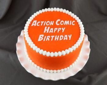 Action Comic Happy Birthday