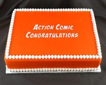 Action Comic Congratulations