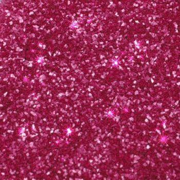 Rainbow Dust Edible Glitter - Cerise - Loose Pot: 5g, 10 Units Per Box. £2.22 Per Unit.
