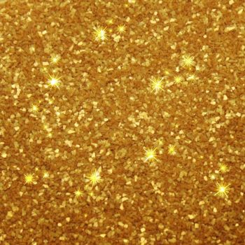 Rainbow Dust Edible Glitter - Gold - Loose Pot: 5g, 10 Units Per Box. £2.22 Per Unit.