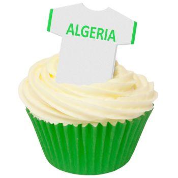 CDA Wafer Paper Pack of 12 Algeria Football Shirts