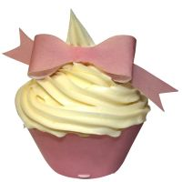 CDA Wafer Paper Pack of 10 Baby Pink Bows