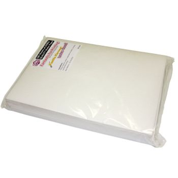 CDA Wafer Paper Pack of 100 Edible A4 Wafer Paper - Mild Sweet Vanilla Flavour