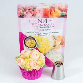 L – 14 – 7 Petal Rose by Nifty Nozzles