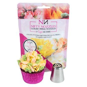 L – 04 – 3 Petal Cream Tulip by Nifty Nozzles