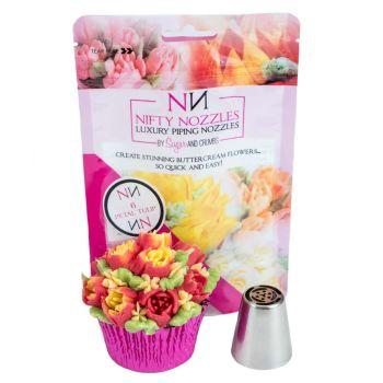 L – 01 – 6 Petal Tulip by Nifty Nozzles
