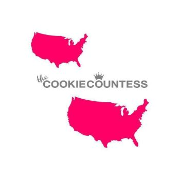 USA 2 sizes by The Cookie Countess: 3 Units @ £4.44 Per Unit