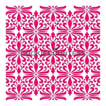 Modern Damask by The Cookie Countess: 3 Units @ £4.44 Per Unit