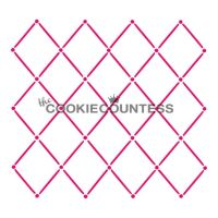 Quilted diamonds by The Cookie Countess: 3 Units @ £4.44 Per Unit.