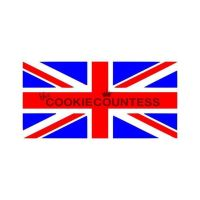 British Flag 2 piece set by The Cookie Countess: 3 Units @ £8.88 Per Unit